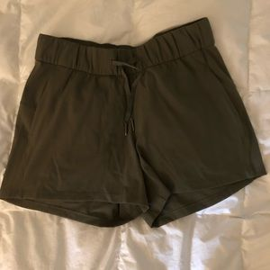 On the Fly Olive Green shorts